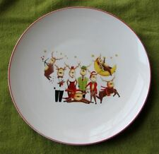 Ceramic & Reindeer Christmas \u0026 Winter Table Plates Pieces | eBay