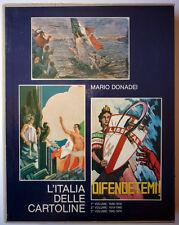 L'ITALIA DELLE CARTOLINE (cofanetto completo 3 volumi) - Mario Donadei - 1977