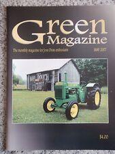Green Magazine John Deere May 2007 JD Model AR on Cover / JD Vee Plow