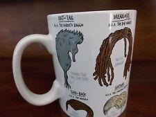 Novità stili di capelli treccine rastaoppure moptop Triglia Bianco Tazza Da Caffè Grande Tazza da tè T