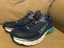 Hoka One One Womens Arahi 2 Blue Running Shoes Size 7.5