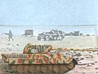 GERMAN WORLD WAR II DIE CAST CAMO PANTHER TANK MODEL MINIATURE CORGI 1:87 SCALE