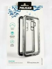 Pelican Marine Waterproof Case for Samsung Galaxy S9+ S9 Plus (Wont fit s9)Clear