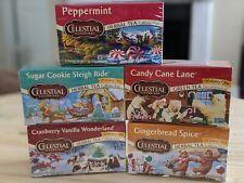 Celestial seasonings Holiday Tea Variety Lot 5 flavors 100 servings