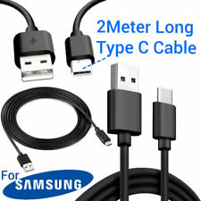 Samsung Galaxy S10 S10e S10Plus USB-C TYPE C 2M Long Charging Charger Lead Cable