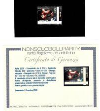 Italia 2003 : Europalia / Cisitalia - VARIETA' -  nuovo non linguellato, MNH**
