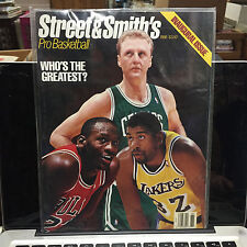 1988 STREET & SMITH'S PRO BASKETBALL YEARBOOK 1ST ISSUE BIRD MAGIC JORDAN - NEW!