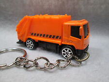 GARBAGE TRUCK  TRASH/REFUSE/RECYCLE  CUSTOM DIE-CAST KEY CHAIN KEYRING FOB   akc