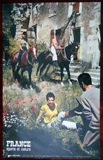 Original Poster France Sport Riding Horse Women Country