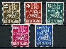 Netherlands 1950 Scott B214-B218 Churches in wartime  MNH