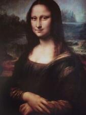 A3 LEONARDO DA VINCI poster Mona Lisa Figure National Gallery exhibition