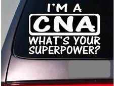 I'm a cna sticker decal *E192* nurse nursing therapy hospital scrubs