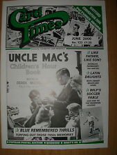 CARD TIMES MAGAZINE FORMERLY CIGARETTE CARD MONTHLY No 123 JUNE 2000