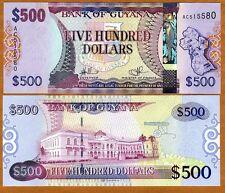 Guyana, 500 dollars, ND (2011), P-New, UNC