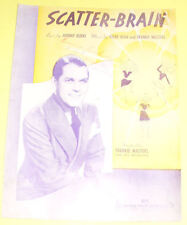 Scatter-Brain - Frankie Masters Orches 1939 Sh Music