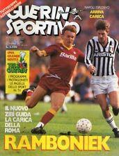 RIVISTA=GUERIN SPORTIVO=N°49 1986=POSTER TORINO 1986/87=DUKLA PRAGA-INTER 0-1