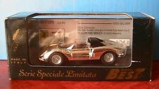 FERRARI 330 P2 SILVER BEST 1003 1/43 CHROME MADE IN ITALY EDITION LIMITEE LTD