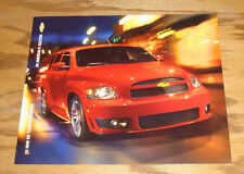 Original 2008 Chevrolet HHR SS Turbocharged Fact Sheet Sales Brochure 08 Chevy