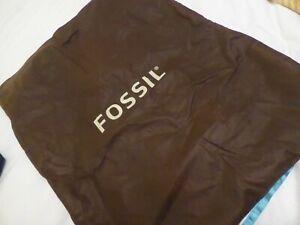 "FOSSIL Brown Handbag Dust Bag 24"" H x 19½"" W (61x50cm)"