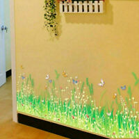 Wall Stickers Grass Type Removable Art Vinyl Decal Mural Home Room Decor