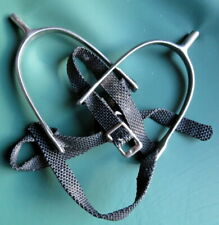 Pair of Horse Riding Spurs - Complete With Straps
