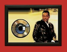 Luther Vandross Poster Art Wood Framed 45 Gold Record Display C3