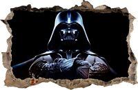 Autocollant Mural trou dans le mur STAR WARS Darth Vader Stickers muraux 63