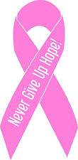 Breast Cancer vinyl decal sticker for car/truck laptop window custom