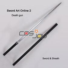Sword Art OnlineⅡDeath Gun Sword and Sheath PVC Cosplay Prop