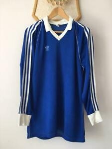 ADIDAS MADE IN WEST GERMANY FOOTBALL SOCCER SHIRT JERSEY MAGLIA OLD 80-s VINTAGE