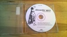 CD Pop Alexander Gero - I Have A Dream (3 Song) Promo ZYX MUSIC cd only