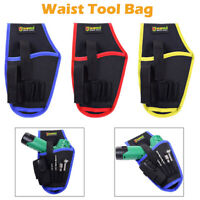 Drill Holster Cordless Tool Holder Heavy Duty Belt Pouch Bag Pocket 3 Colors