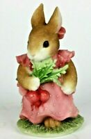 """My Blushing Bunnies """"Friendship Harvests Many Blessings"""" Vintage 1996 #Y7-990"""
