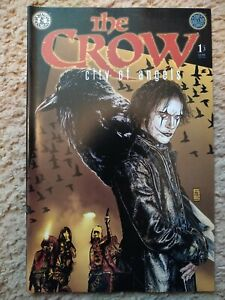 The Crow: City of Angels #1 Kitchen Sink 1996, Near Mint