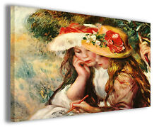 Quadri famosi Pierre Auguste Renoir vol XIX Stampa su tela arredamento arte