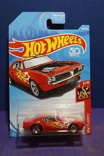 2018 Hot Wheels CUSTOM '67 PONTIAC FIREBIRD - HW FLAMES Series 5/10 US Long card