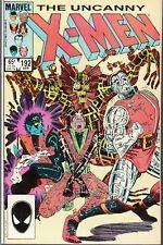 UNCANNY X-MEN #192 1985 MARVEL-FUN AND GAMES/COLOSSUS- CLAREMONT/ROMITA...NM-