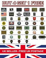 Rubber Airsoft Military Tactical PVC Patch Patches Badge Badges: Listing 3