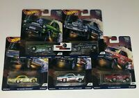 SALE!  Drag Strip Demon * 5 Car Set * Hot Wheels Car Culture w/ Gasser * HF4