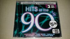 2 DISC SET PLATINUM COLLECTION HITS OF THE 90S CD MUSIC ALBUM SONGS 15 TRACKS