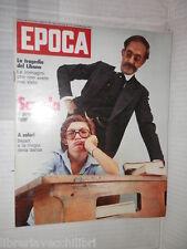EPOCA Giseppe Zamberletti Maurice Bejart Angelina Albertini Roberto Boninsegna
