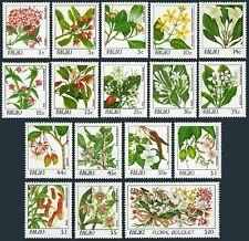 Palau 126-142,MNH. Indigenous Flowers 1987-1988. x33333