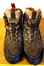 VNTG Oakley Hiking Brown Suede Field Gear Mens Water Resistant Shoes Sz 11.5 M