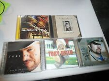 Toby Keith  CD 5 Lot WHITE TRASH WITH MONEY Shock'n y'all HOW DO YOU LIKE ME NOW