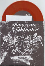 "American Nightmare ""4 Song Demo"" 7"" OOP Opaque Red Give Up The Ghost Converge"