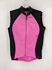 Pink Tioga Fleece Lined Cycling Vest Size S