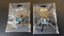 Aqua Jewelry 2 Pack of Rings Butterfly And Owl Produced By Puzzled