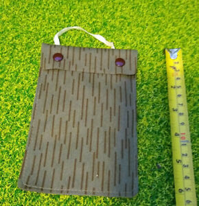 EAST GERMAN/DDR/NVA waterproof chest pouch for military documents