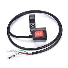 22mm 3fach-Modul Schalter Roller Elektro-Fahrrad-Geschwindigkeitsschalter