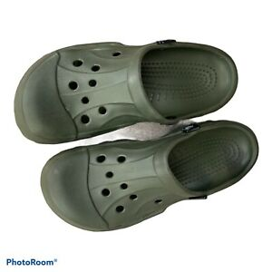 Crocs Off Road Clog Green Sport Slip On Clogs Shoes Size Men's 12 Used